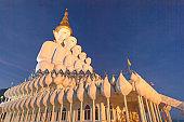 Buddha Statue installation at Wat Prathat Phasornkaew Petchabun province  Thailand