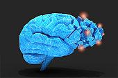 Brain inflammation or brain disease