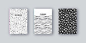 Artistic notebook covers design