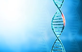 DNA mutations or  genetic disorder concept background