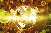 Coronavirus attack on earth