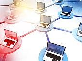 computer networking, Internet technology