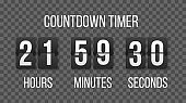 Time remaining countdown.
