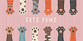 Paws up animals