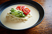 Korean soy soup udon