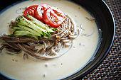 Korean soba noodle