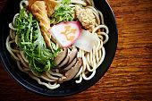 Korean udon noodle