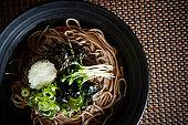 Korean cold soba noodle