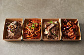 Korean take out food