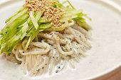 Korean soy soup noodle