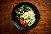 Korean spicy mixed noodle