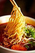 Spicy ramen noodle