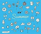 여름 아이콘