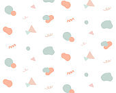 Simple and pop cute pattern