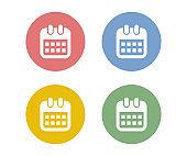 Calendar simple Icons