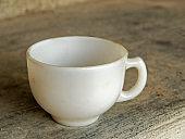 Vintage Stoneware tea cup at old house of Badoli Near Idar Sabarkantha