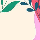 꽃 무늬 포스터
