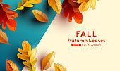 Natural Autumn Fall Background Design