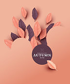 Autumn Abstract Layout Design