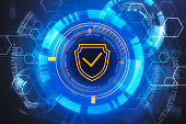 Cyber security interface, data protection