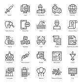 Pack Of Business line Vectors