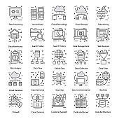 Big Data Doodle Icons Pack