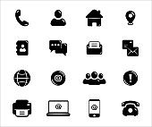 Simple Set of old and modern communication technology form Related Vector icon graphic design. Contains such Icons as old dial up telephone, phone book, postal mail, letter, e-mail and faximile
