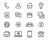 Simple Set of old and modern communication technology form Related Vector icon graphic design. Contains such Icons as old dial up telephone, phone book, postal mail, letter, e-mail and fax