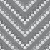 Grey Chevron Diagonal Stripes seamless pattern background