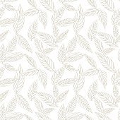 Brown Beige Tropical Leaf seamless Pattern background