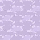 Purple Camouflage Brush strokes Seamless Pattern Background