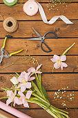 Spring Bouquet Background