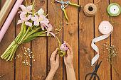 Spring Bouquet Decor