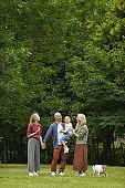Modern Family in Park