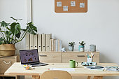 Cozy Workplace at Home Office
