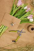 Craft Flower Box Background