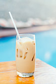 Photos of Iced coffee glass