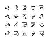Line SEO Icons