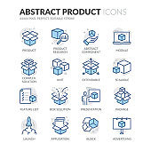 Line Abstract Product Color Icons