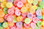 colorful jelly sugar candies