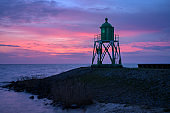 Stavoren Lighthouse at sunset