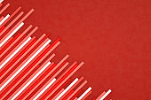 Abstract Line Chart Background