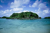 Seascape in Japan beach