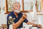 Elder loss of appetite boring food bad taste unhappy when eating meal during stay home