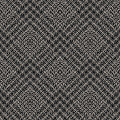 Abstract plaid pattern in dark grey. Seamless hounds tooth tweed check plaid for coat, skirt, dress, or other modern autumn and winter glen fashion fabric print.