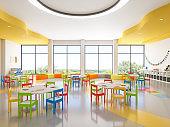 Classroom of Preschool