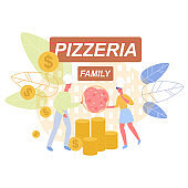 Pizzeria as Small Husband and Wife Family Business