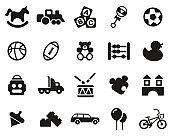 Toys Icons Black & White Set Big
