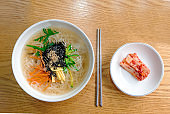 Korean traditional noodles