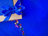 Christmas, weeding, Valentine day gift box or present with bow